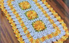Tapete Flores Vibrantes – Material e Como Fazer