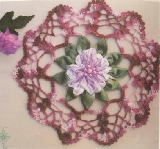 Toalhinha Encanto Floral Crochê – Material e Receita
