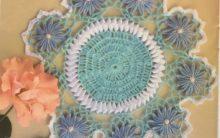 Toalhinha Equilíbrio Cores Em Crochê – Material e Como Fazer