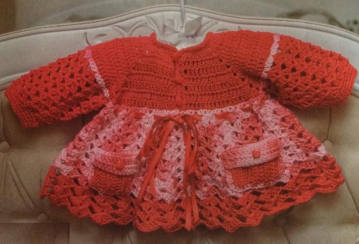 Vestido Infantil Em Crochê – Material e Como Fazer