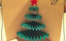 Cartão Arvore de Natal – Material e Passo a Passo