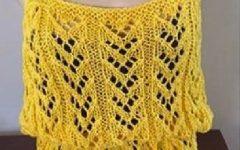 Regata Amarela Em Tricô – Material e Como Fazer