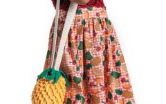Bolsa Abacaxi Infantil Em Crochê – Material e Como Fazer
