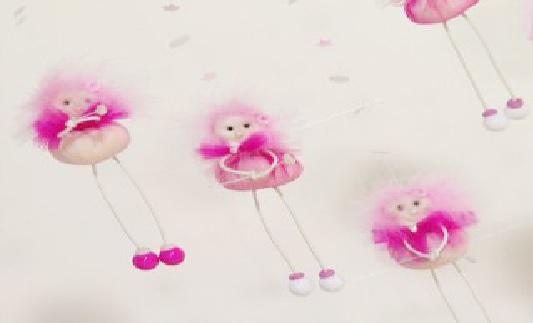 Lembrancinha Fadinha Rosa Em Tule – Material e Passo a Passo