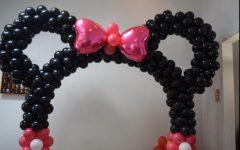 Arco de Balões Minnie Mouse – Decoração de Festa