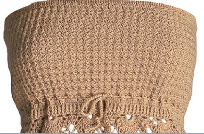 88474a2419 Blusa Tomara Que Caia Crochê - Material e Como Fazer