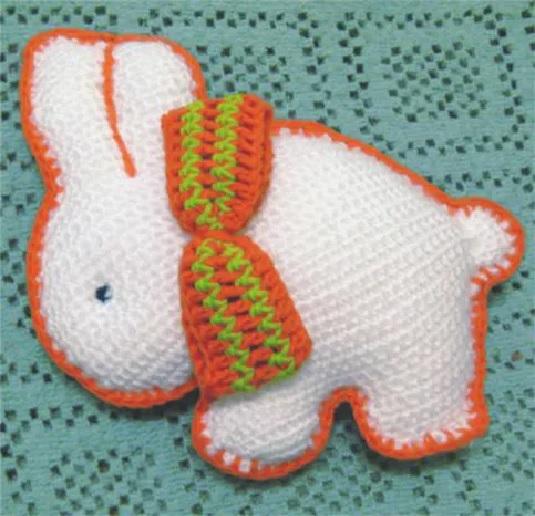 Coelhinho Em Crochê – Material e Como Fazer