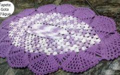Tapete Gota D'água Em Crochê – Material e Como Fazer