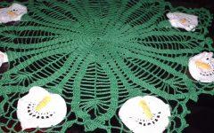 Toalhinha Copo De Leite Em Crochê – Material e Vídeo Aula