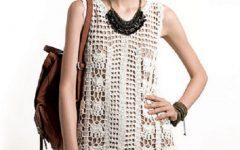 Vestido Regata Em Crochê – Material e Como Fazer
