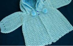 Casaquinho de Bebê Com Capuz Crochê – Material e Vídeo Aula