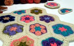 Flor Africana Em Crochê – Material e Vídeo Aula
