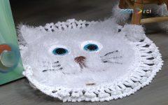 Tapete Gato Em Crochê – Material e Como Fazer