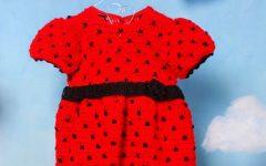Vestido Joaninha Em Crochê – Material e Receita