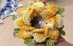 Flor Sininho Em Crochê – Material e Vídeo Aula