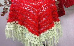Poncho Crochê Mollet  – Material e Receita