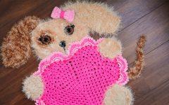 Tapete Cachorro Amoroso Crochê – Material e Receita