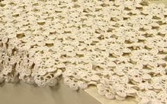 Toalha de Mesa Em Crochê – Material e Vídeo