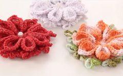 Flor Mosquitinho de Bico Em Crochê – Material e Vídeo