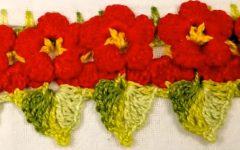 Barrado Flores Em Crochê – Material e Vídeo