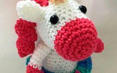 Mini Unicórnio Crochê – Material e Receita