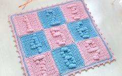 Tapete Infantil Com Números Crochê – Material e Receita