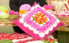Almofada Flor de Barbante– Material e Vídeo
