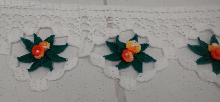 Barrado Elegante Em Crochê – Material e Vídeo