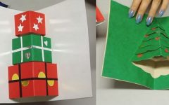 Cartão 3D de Natal – Material e Vídeo