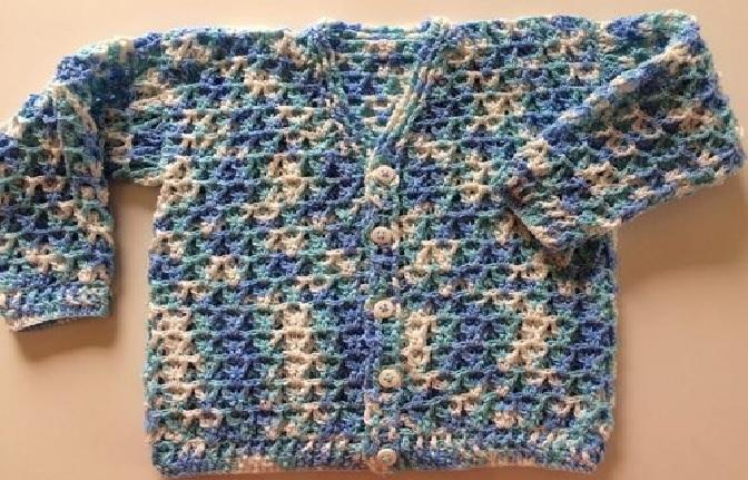 Casaquinho Charminho Em Crochê – Material e Receita