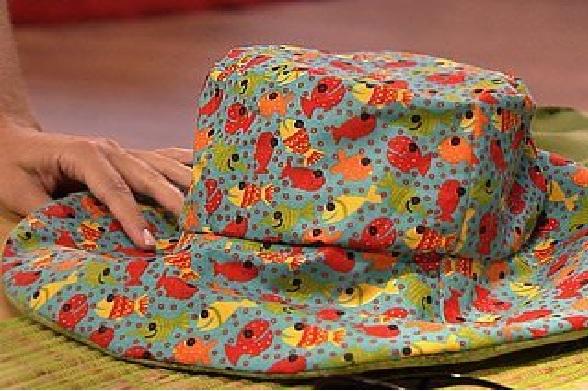 Chapéu de Praia de Tecido – Material e Como Fazer