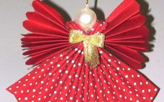Enfeite de Natal de Anjinho de Tecido – Material e Vídeo