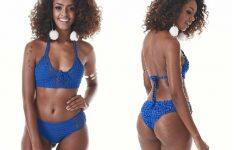 Biquíni Azul Reforçado Em Crochê – Material e Vídeo