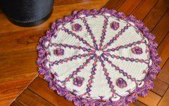 Tapete Contorno Magia Em Crochê – Material e Receita