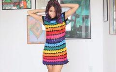 Vestido Arco Iris Crochê – Material e Vídeo