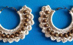 Brinco de Argola Crochê – Material e Passo a Passo
