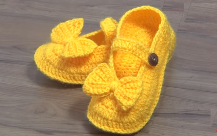 Sapatilha Mollet Adulto Crochê – Material e Vídeo