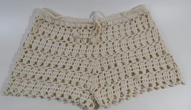Short Verão Em Crochê – Material e Vídeo