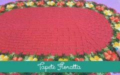FlorattaTapete Em Crochê– Material e Vídeo