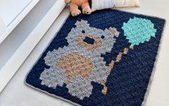Tapete Ursinho Em Crochê– Material e Receita