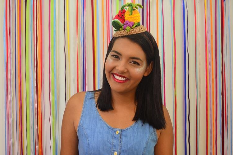 Tiara Frutas Carnaval Em Crochê – Material e Receita