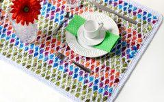 Trilho de Mesa Marroquino Em Crochê – Material e Receita