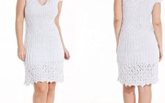 Vestido Prata Precioso Em Tricô– Material e Receita