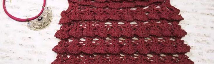 Artigo anterior. Blusa Marsala Crochê – Material e Vídeo eff6a8b9ab7