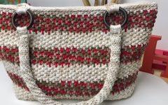Bolsa Maçã do Amor Em Crochê- Material e Vídeo