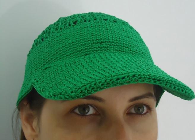 Boné Brasil Crochê - Material e Vídeo  d6fa34bf921