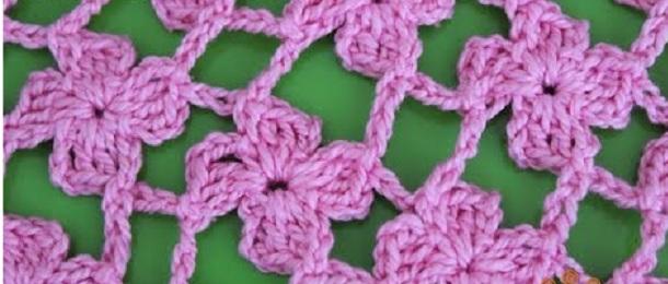 Ponto Florzinha Em Crochê – Material e Vídeo