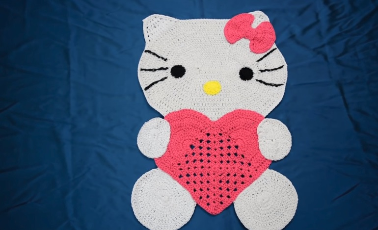 Tapete Hello Kitty Crochê – Material e Vídeo