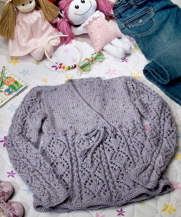 Blusa Batinha InfantilTricô – Material e Receita