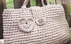 Bolsa Amor Em Crochê – Material e Receita